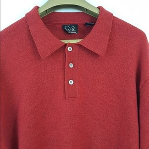 Jos A Bank Signature Collection Sweater Wool